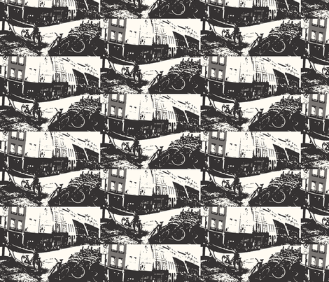 cycled fabric by scharliem on Spoonflower - custom fabric