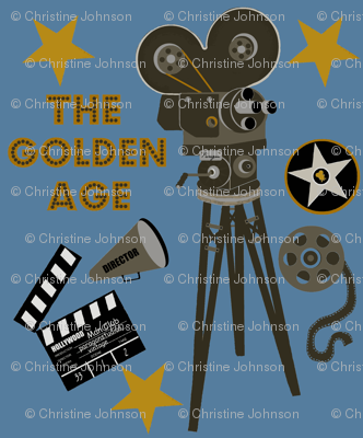The Golden Age / blue