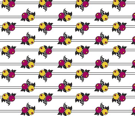 Cake & Coffee fabric by beckarahn on Spoonflower - custom fabric