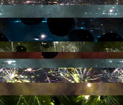 Parallel Universe - 1 fabric by heytangerine on Spoonflower - custom fabric