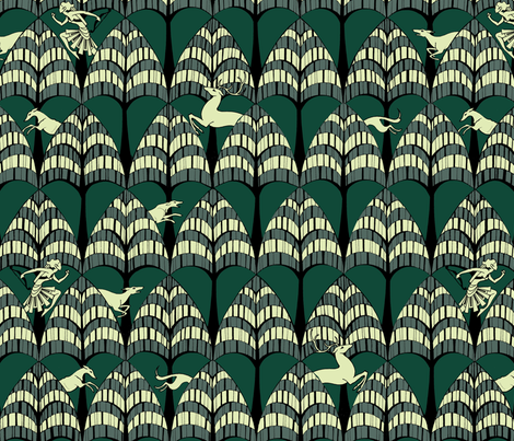 The Hunt fabric by ceanirminger on Spoonflower - custom fabric