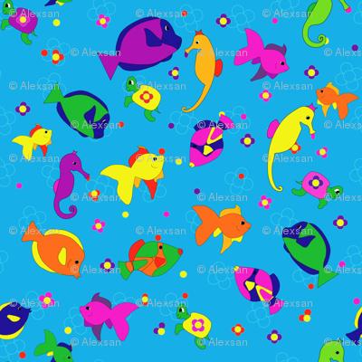 Flower_Power_sea creatures