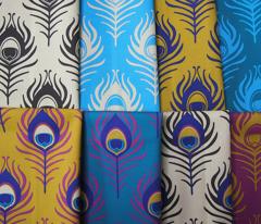 Peacock feather - cream