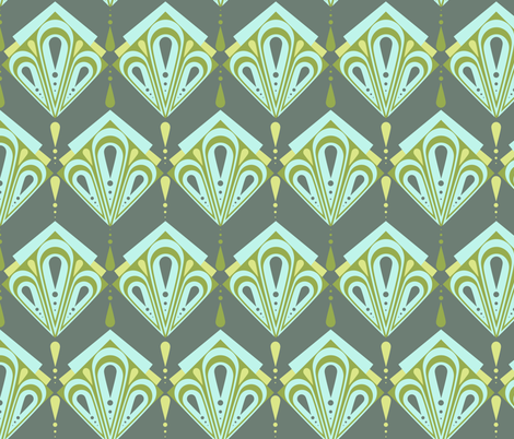 my deco style fabric by mondaland on Spoonflower - custom fabric