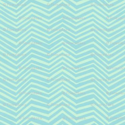 Zigzag in Seaglass