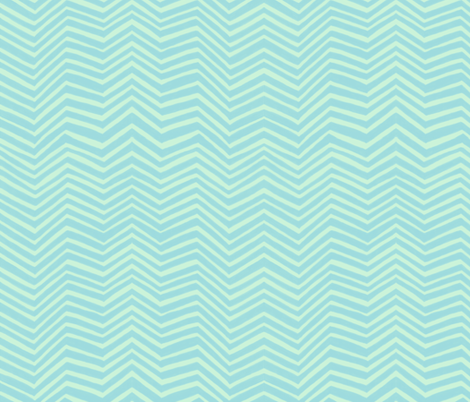 Zigzag in Seaglass fabric by forest&sea on Spoonflower - custom fabric