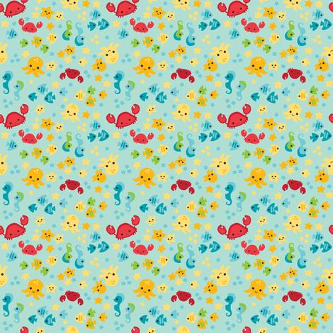 Sea Cuties fabric by johanna_chaytor on Spoonflower - custom fabric