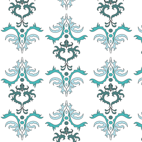 belle_turtle_green fabric by michelle_zollinger_tams on Spoonflower - custom fabric