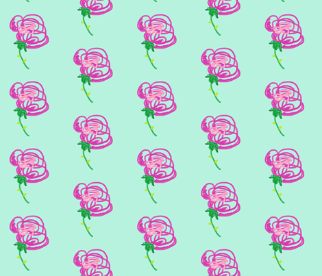 dog_rose_fabric fabric by daniellela_valle on Spoonflower - custom fabric