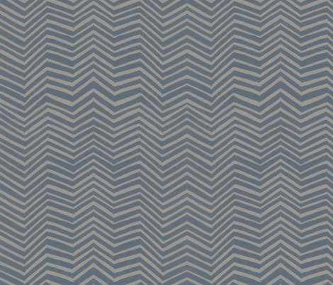 ZigZag in Basalt fabric by forest&sea on Spoonflower - custom fabric
