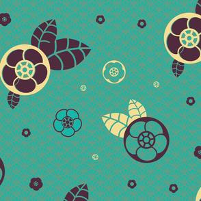 Des fleurs et des palmes