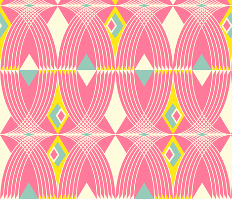 summer deco fabric by alison_janssen on Spoonflower - custom fabric