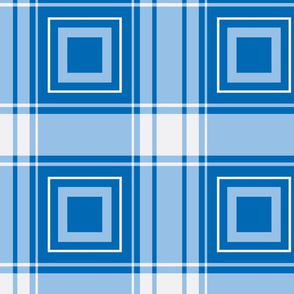 geometric plaid with squares-ice palace