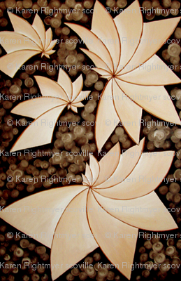 abstract brown