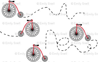 les bicyclettes partout