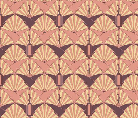 Virginia Waterleaf fabric by meduzy on Spoonflower - custom fabric