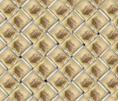 head in jar fabric by giantpeanut on Spoonflower - custom fabric