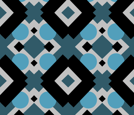 ComplexDeco fabric by fibrefreak on Spoonflower - custom fabric