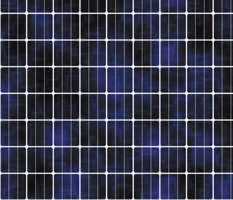 Solar Cell, L fabric by animotaxis on Spoonflower - custom fabric