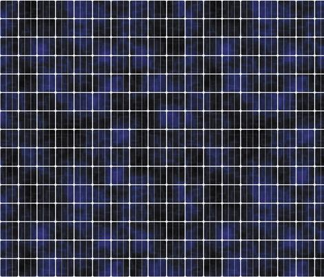 Solar Cell, S fabric by animotaxis on Spoonflower - custom fabric