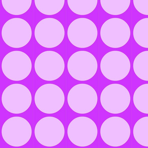 Big Dots in Purple and Lavender