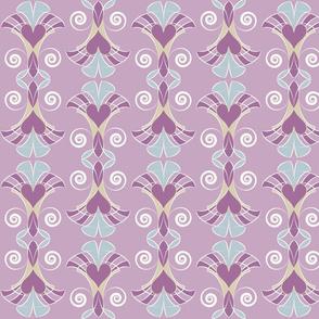 Heart Deco - Lavender