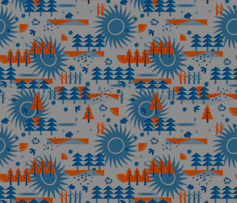 long winter fabric by isabella_asratyan on Spoonflower - custom fabric