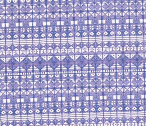 Tribal Stripe - Blue