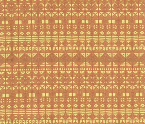 Tribal Stripe - Gold