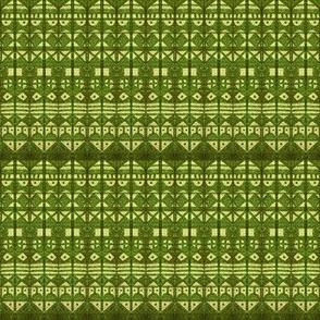 Tribal Stripe - Green