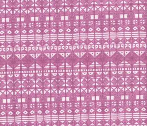 Tribal Stripe - Purple