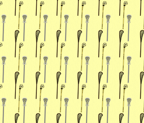 Lacrosse Sticks fabric by dd_baz on Spoonflower - custom fabric