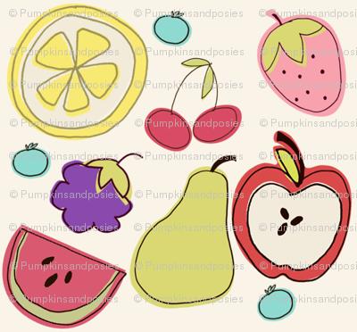 Fruit Salad in Cream