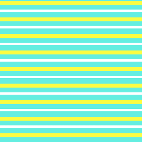 turquoise_and_yellow_stripe fabric by mammajamma on Spoonflower - custom fabric