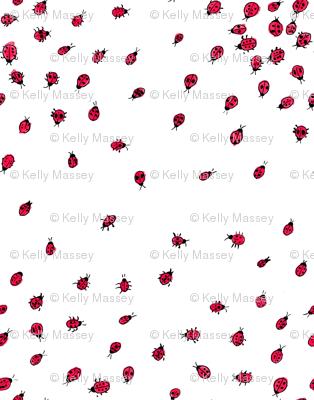 Scattered Ladybugs