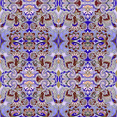 Feminine Wiles fabric by edsel2084 on Spoonflower - custom fabric