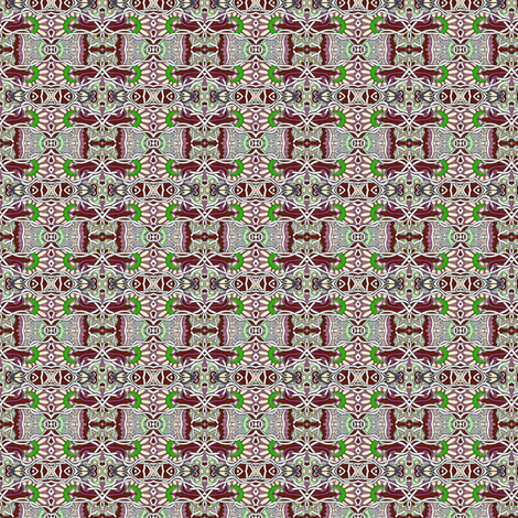 Chocolate Nouveau Spring fabric by edsel2084 on Spoonflower - custom fabric