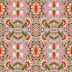 Gothic  Victorian Retro Kaleidoscope