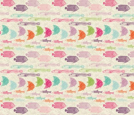 sea rush hour_small fabric by natasha_k_ on Spoonflower - custom fabric