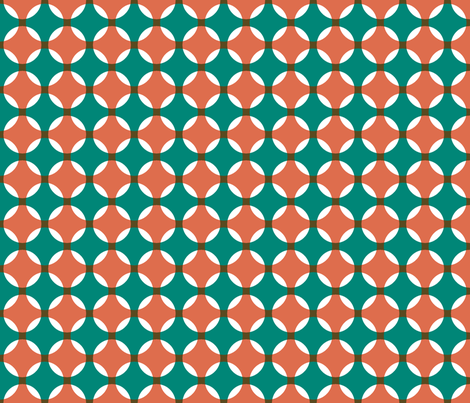 Moroccan Circles fabric by ravenous on Spoonflower - custom fabric