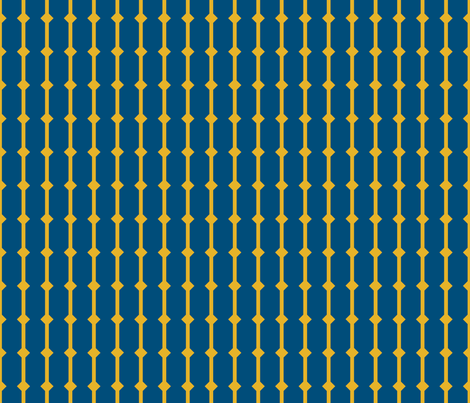 because of matthias - basic 2- blue fabric by annosch on Spoonflower - custom fabric