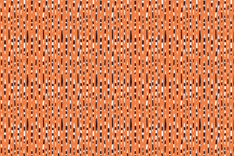 Orange Porcupine Quills  fabric by prettypenny on Spoonflower - custom fabric