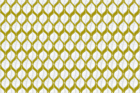 Green Leaves  fabric by prettypenny on Spoonflower - custom fabric