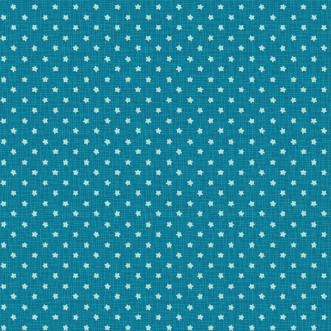 blue sea stars fabric by johanna_chaytor on Spoonflower - custom fabric