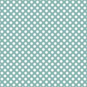 Farmhouse Dots Blue and White