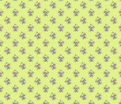 Farmhouse Roses Lissie fabric by joanmclemore on Spoonflower - custom fabric