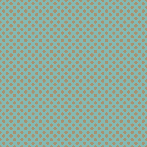 Farmhouse Dots Blue fabric by joanmclemore on Spoonflower - custom fabric