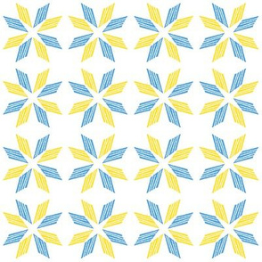 Blue Yellow Star