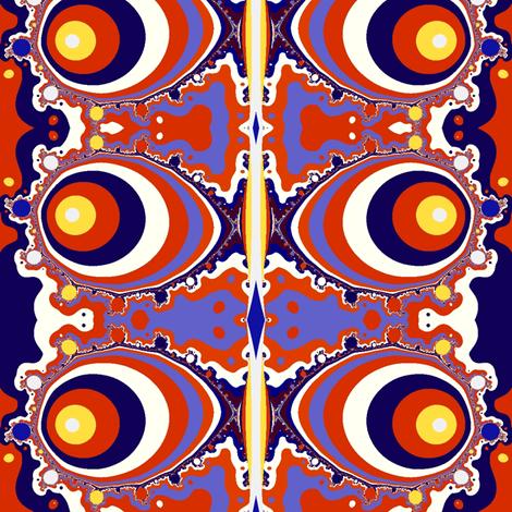 Groovy Fish Drank Too Much! fabric by clotilda_warhammer on Spoonflower - custom fabric