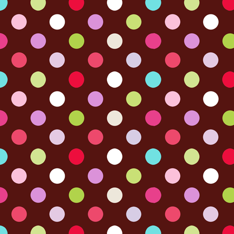 bon bon dots fabric by katarina on Spoonflower - custom fabric